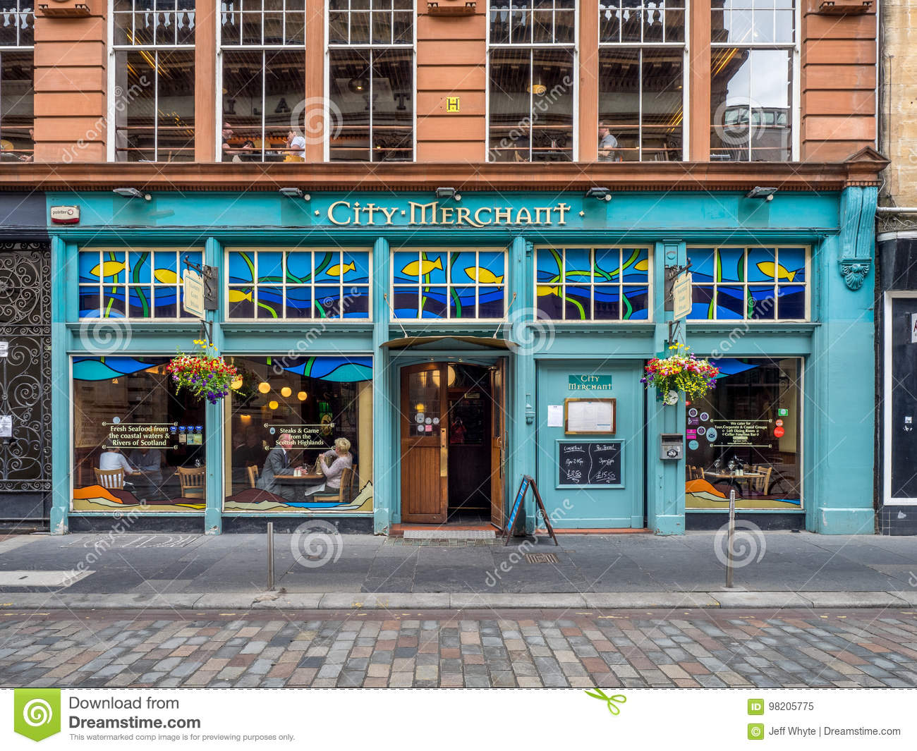 City Merchant in Glasgow, Scotland