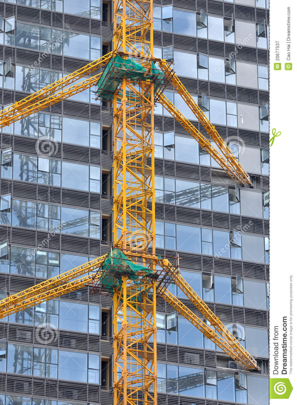City modern building in construction stock image image for Modern building construction