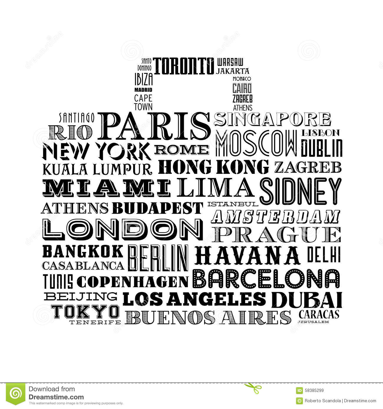 Old City Names Lagos Stock Image - Image: 8141521