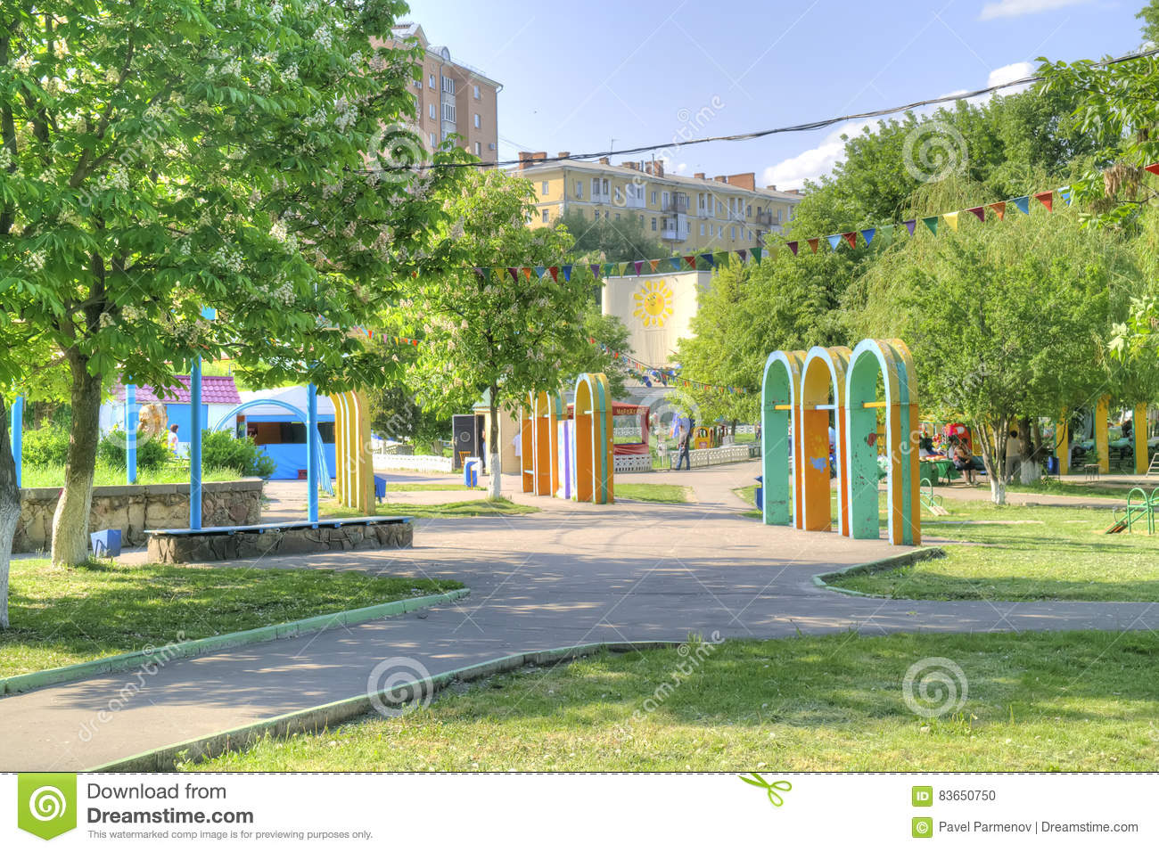 City Oryol. Town Square