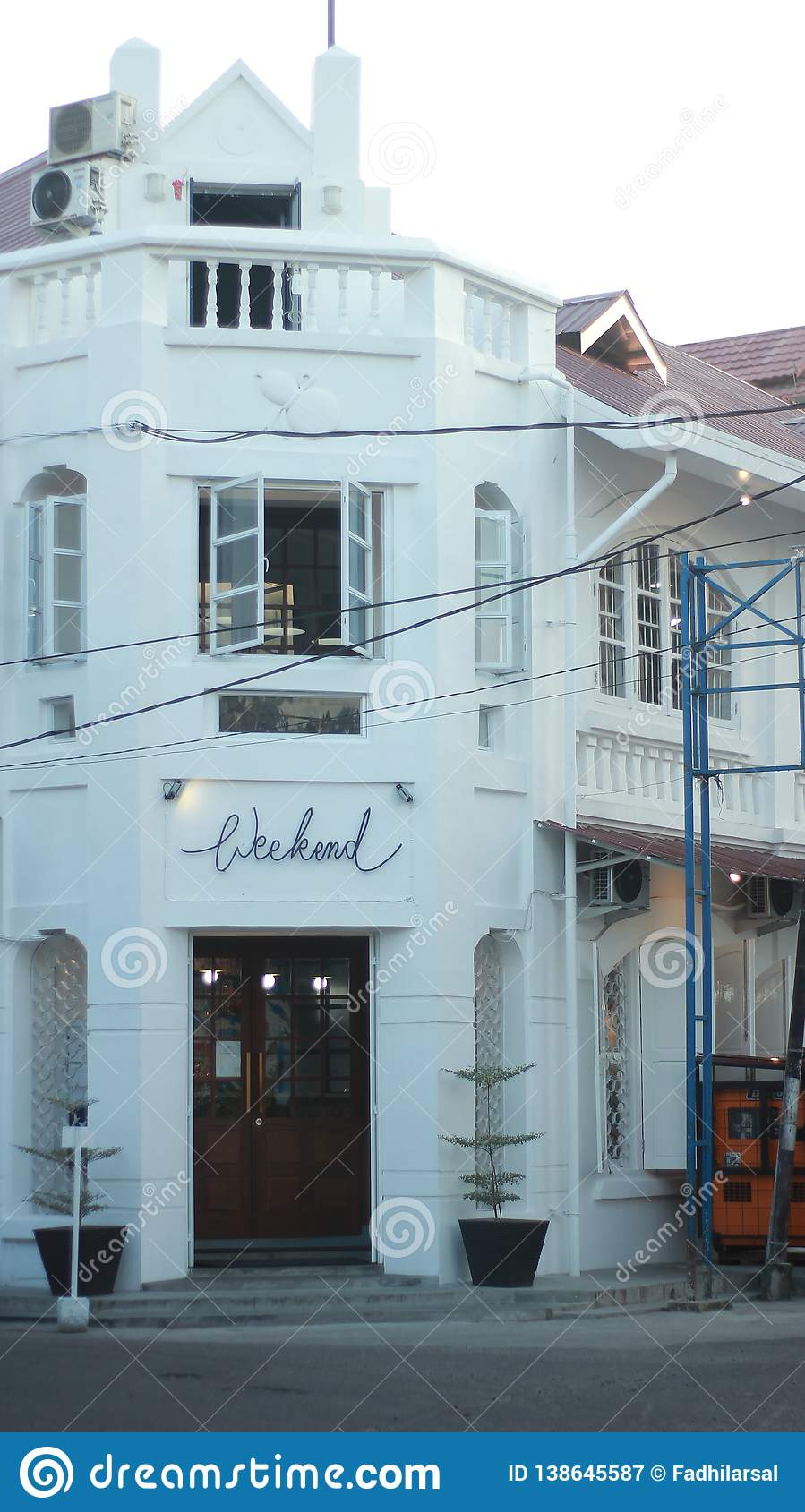 Classic age restaurant in padang