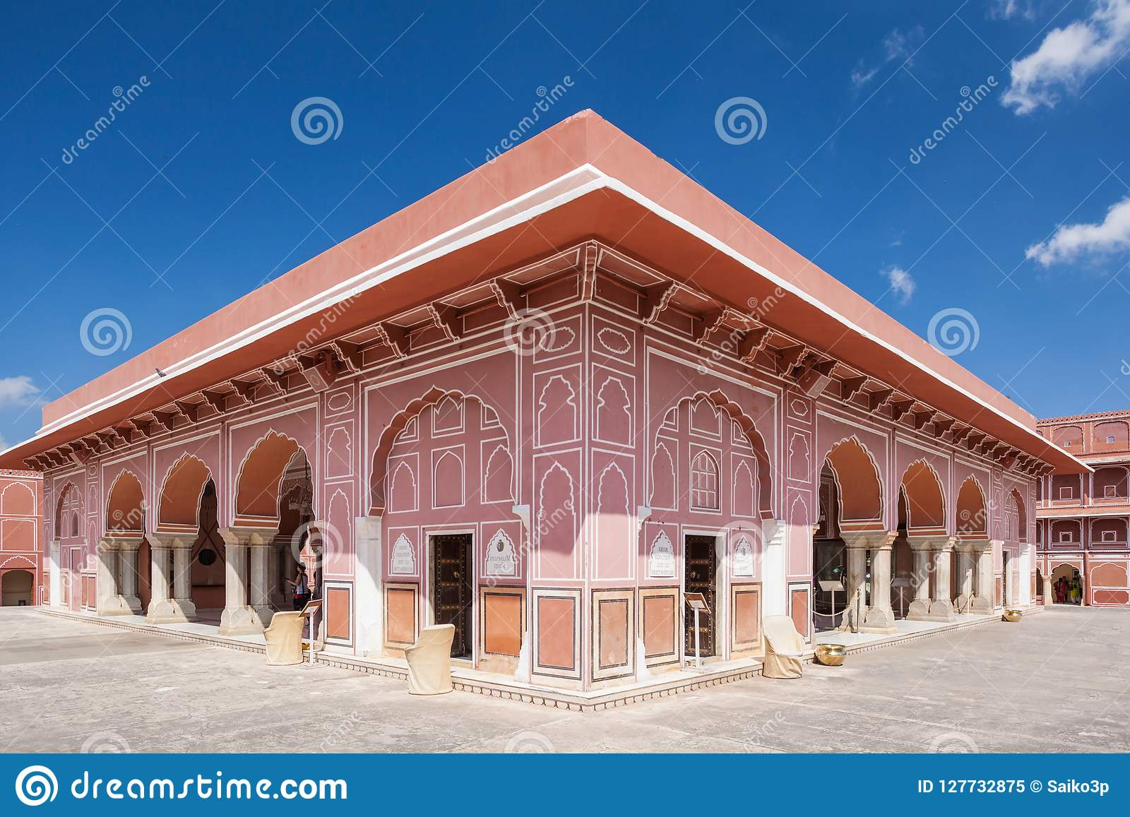 City Palace In Jaipur Editorial Image Image Of Maharaja 127732875