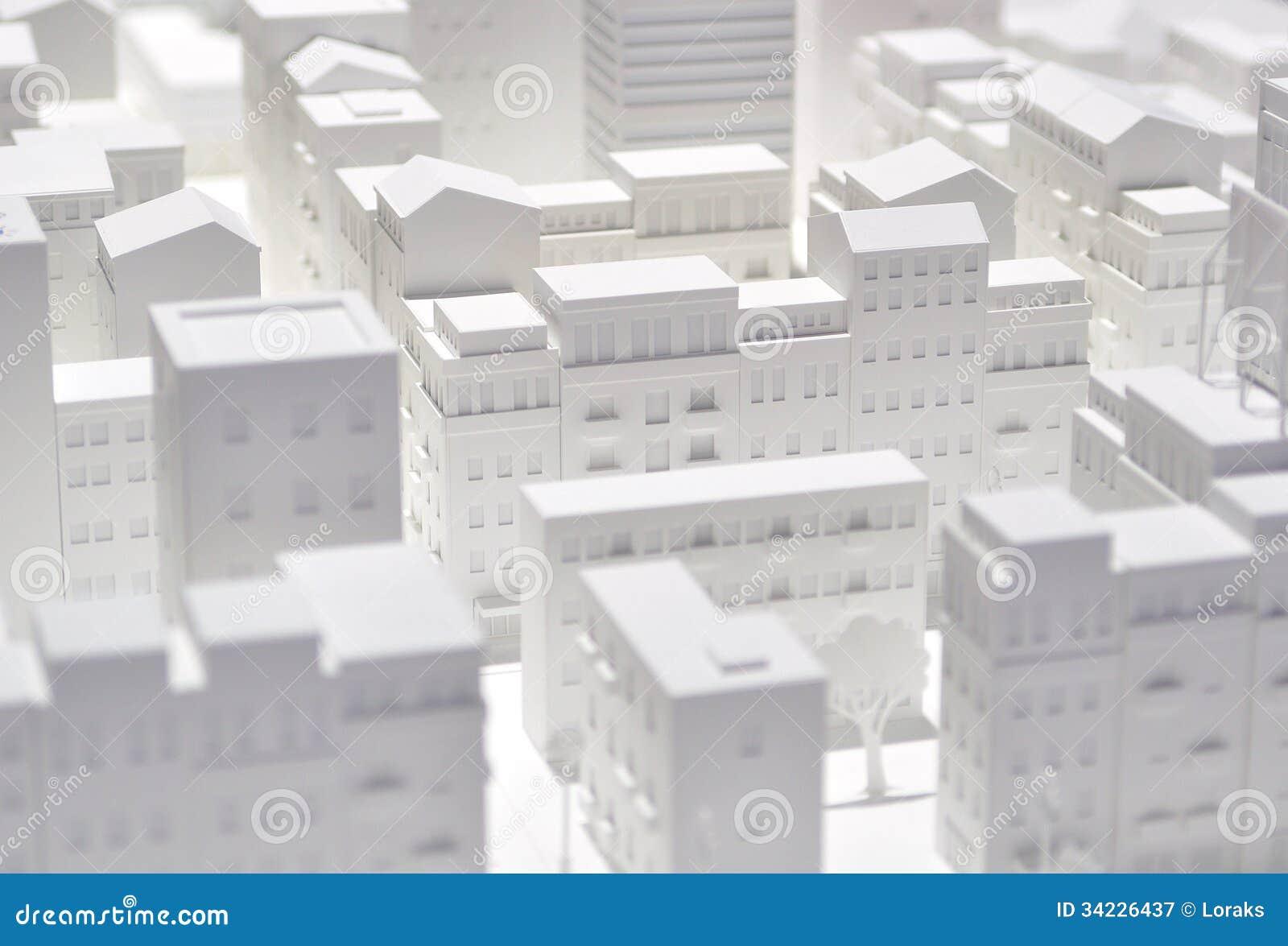 city pattern volume  royalty free stock photography