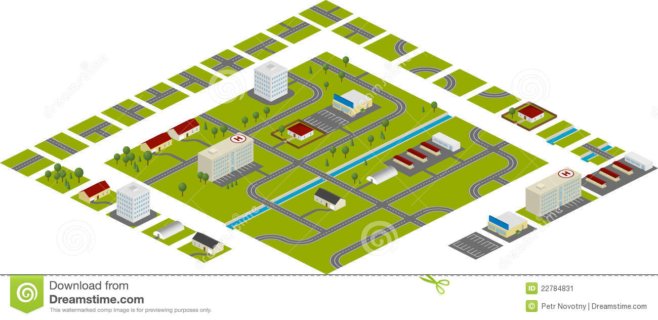 Http Www Dreamstime Com Stock Image City Plan Image22784831