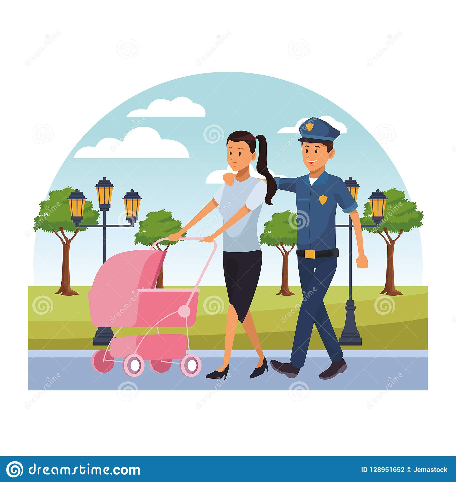 Female Police Officer Helping   Clipart Panda - Free Clipart Images