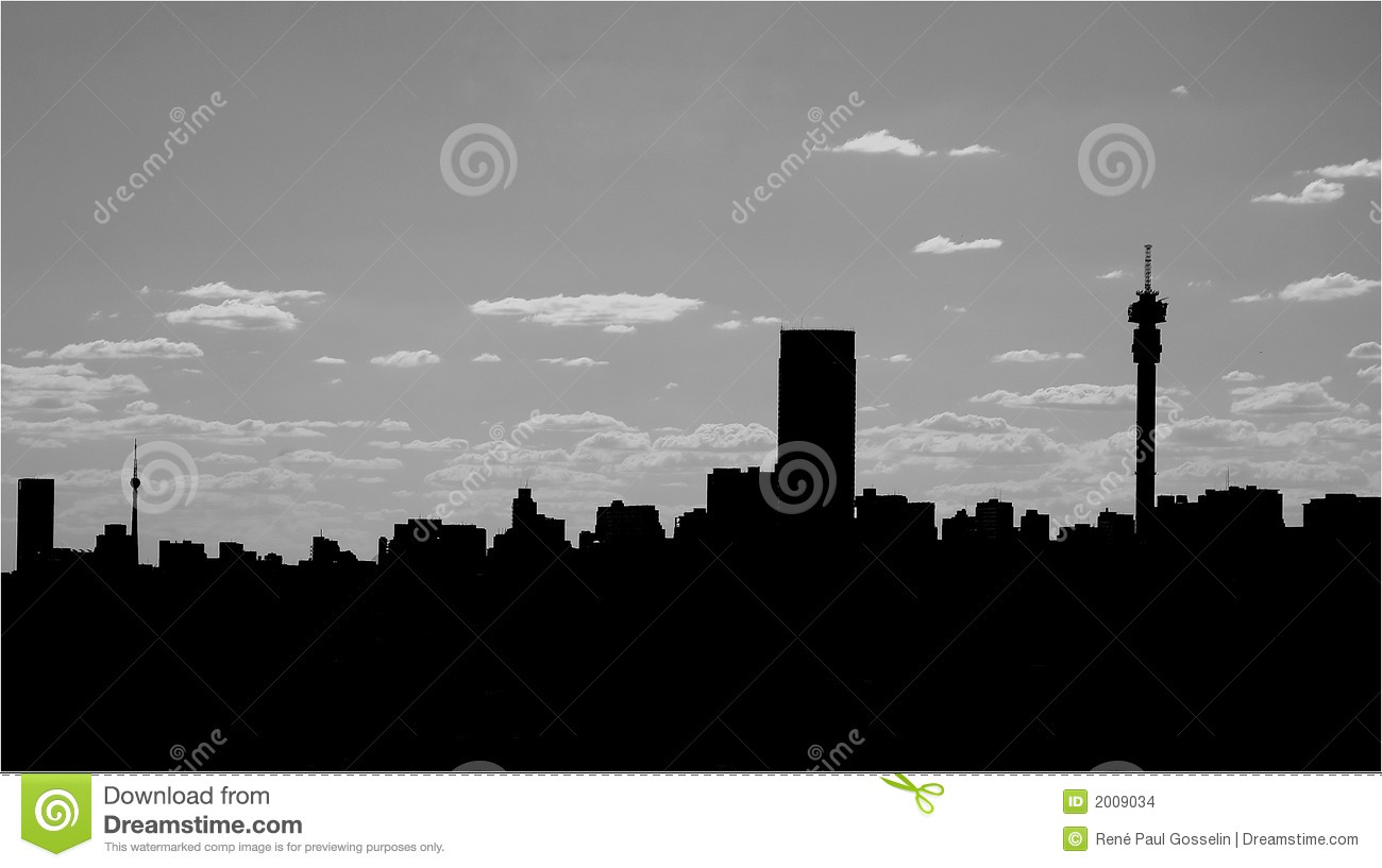 Johannesburg skyline stock vector illustration of white 38326195 city skyline silhouette stock images thecheapjerseys Image collections