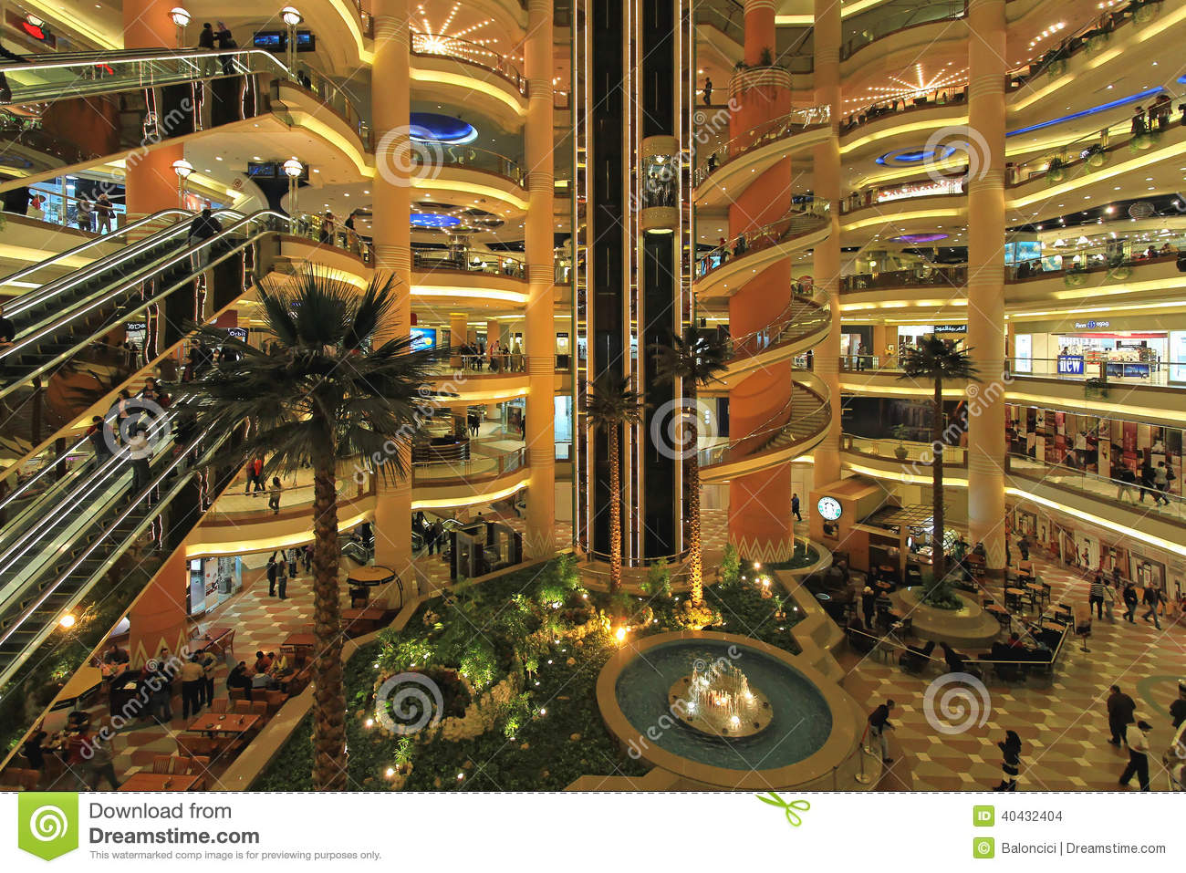 City stars cairo editorial stock image image 40432404 for Shopping in cairo