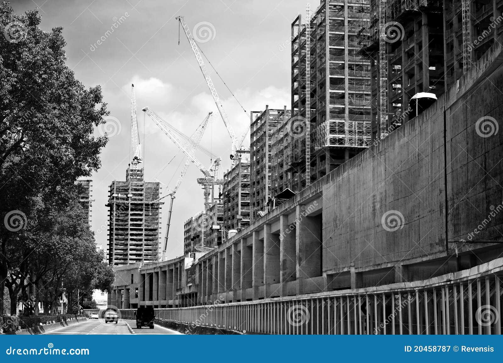 File:Building under construction, Cambridge Street ... |City Under Construction