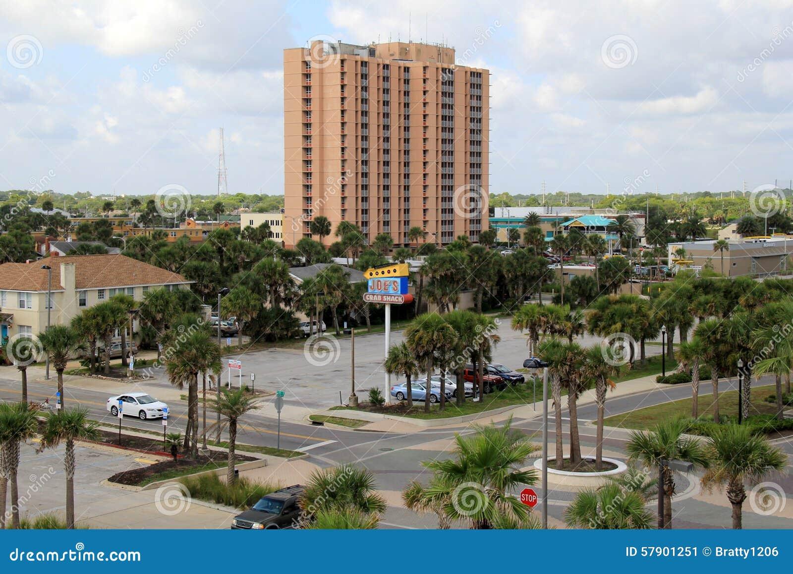 City view, Jacksonville Beach, Florida,2015
