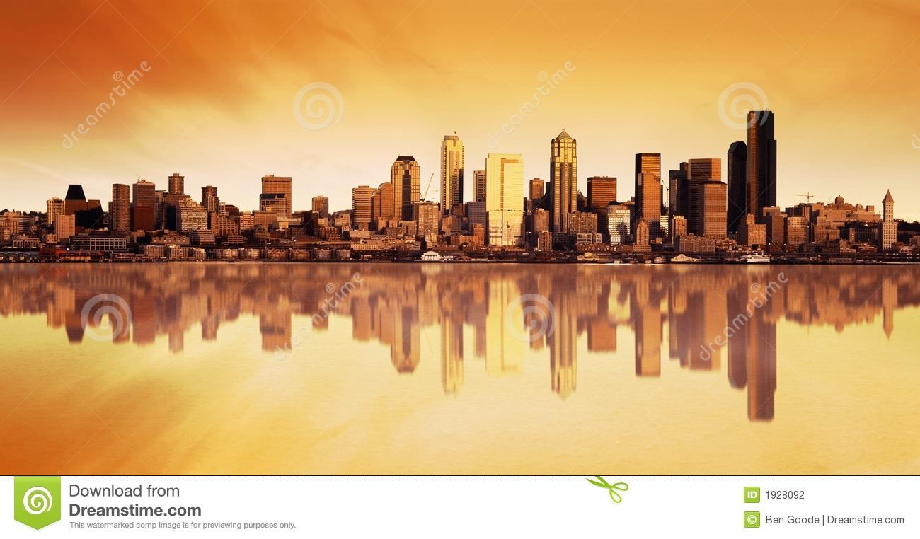 City View Sunrise Stock Photography - Image: 1928092