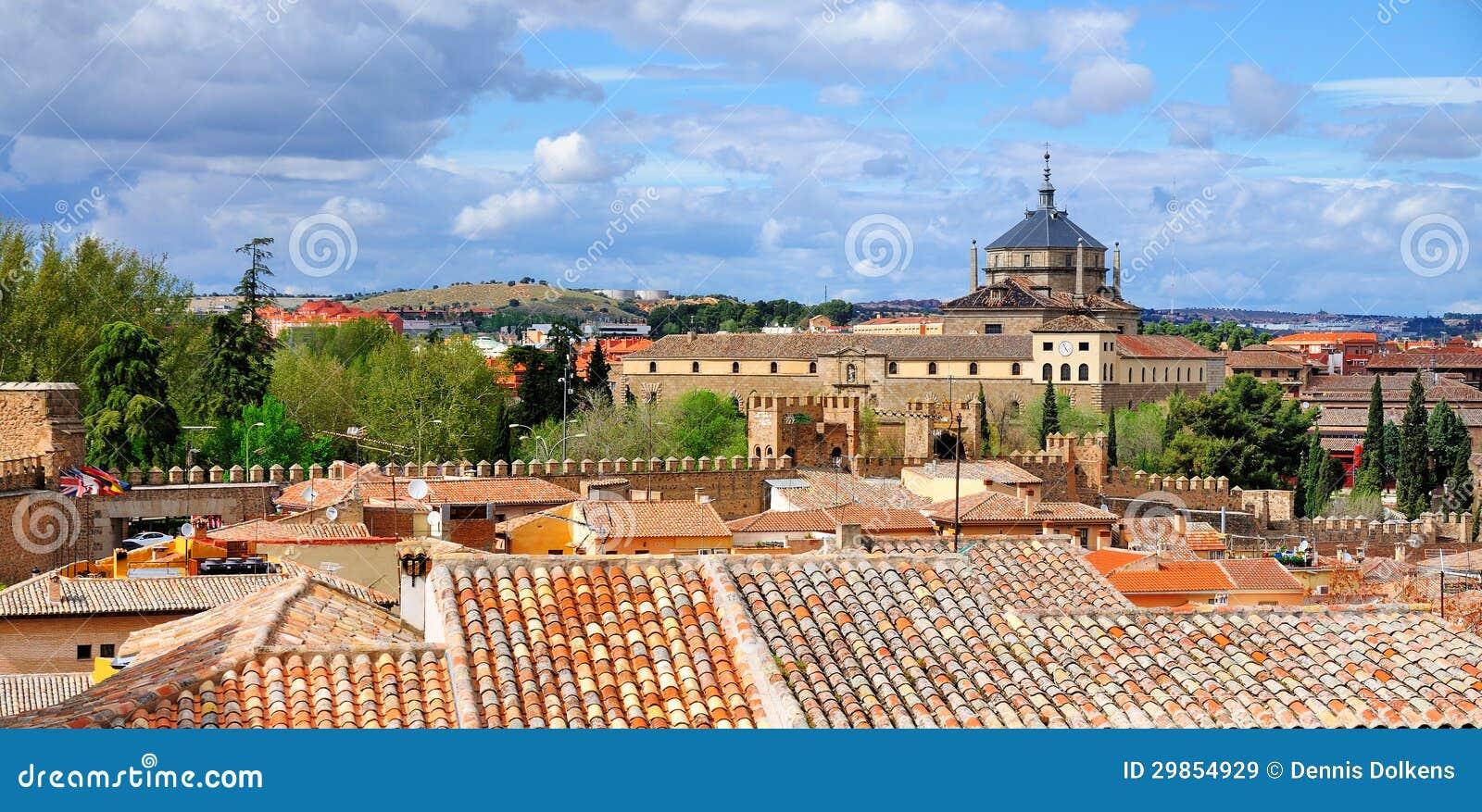 Hospital De Tavera And City Walls, Toledo Royalty Free Stock Images - Image: ...