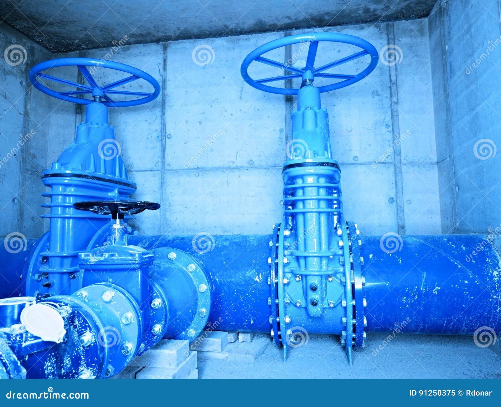 City Water Pipeline, Water Supply Company  Underground