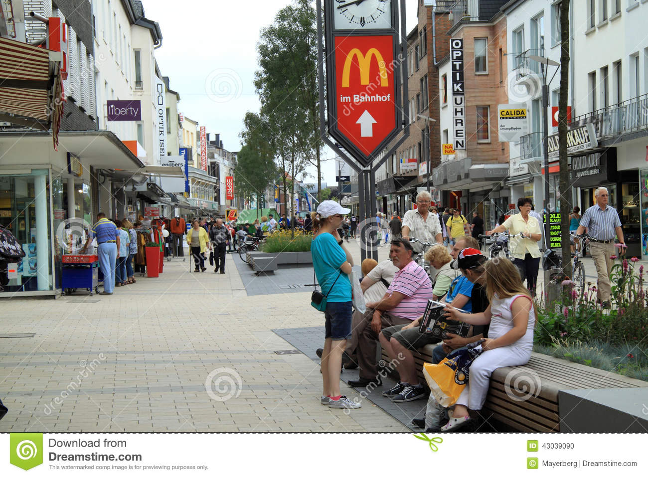 City Wesel Germany Editorial Image Image Of Architecture 43039090