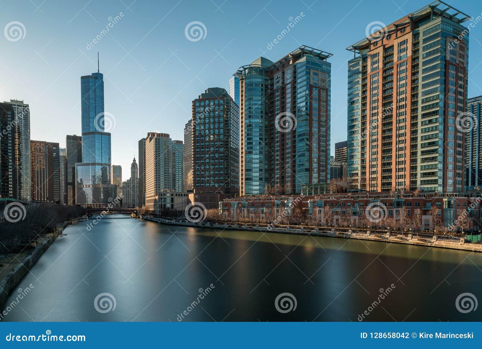 CHICAGO IL skyline usa