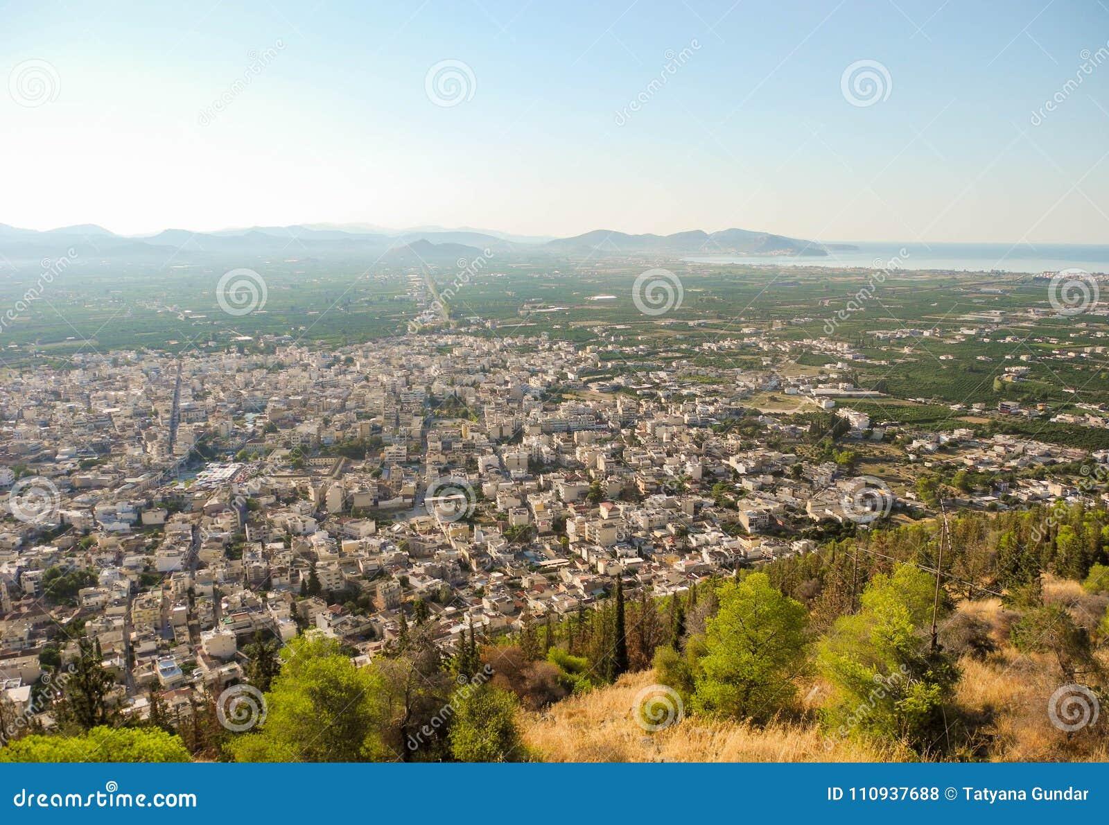The Argos cityscape.