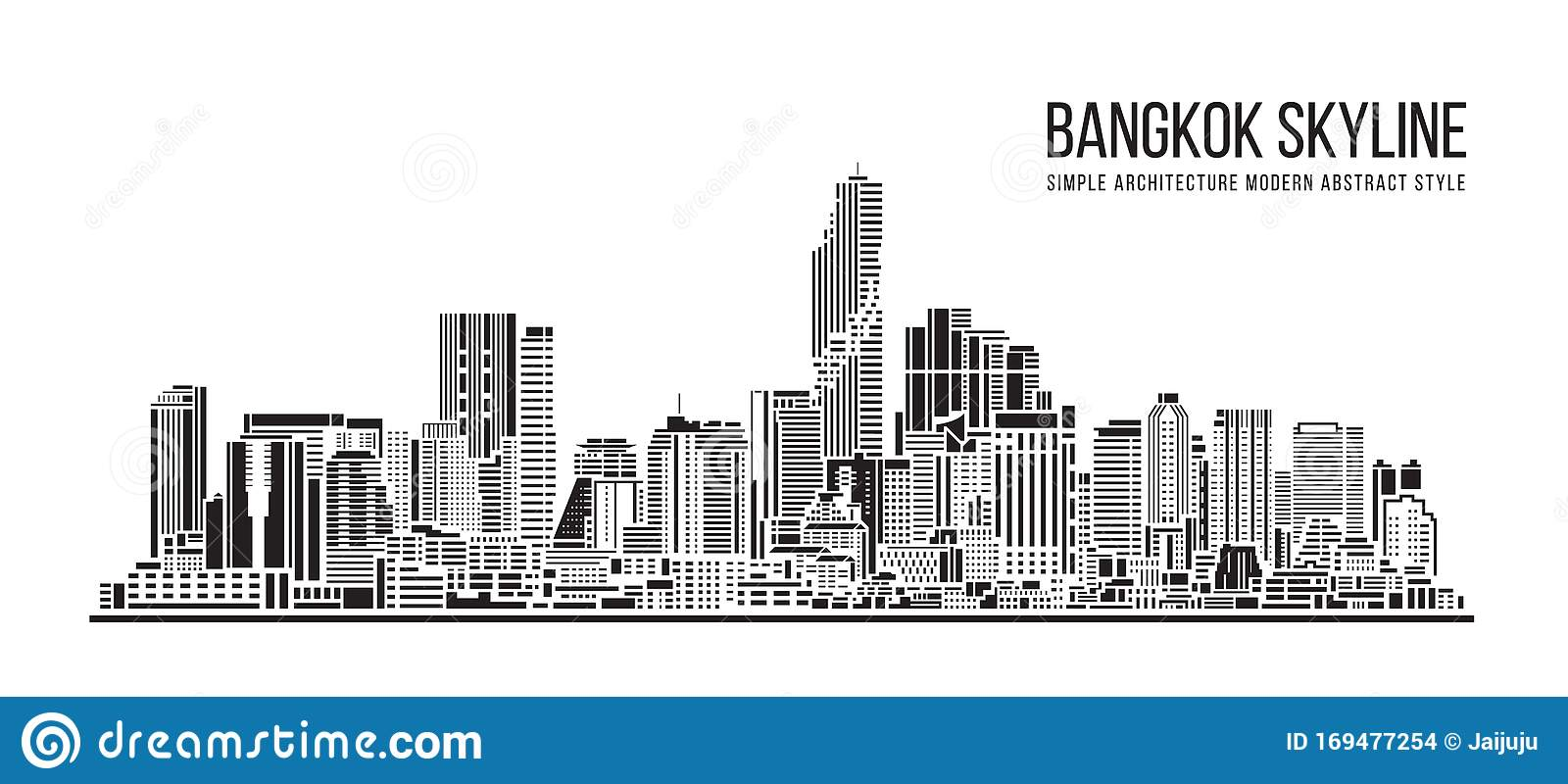 Cityscape Building Simple Architecture Modern Abstract Style Art ...