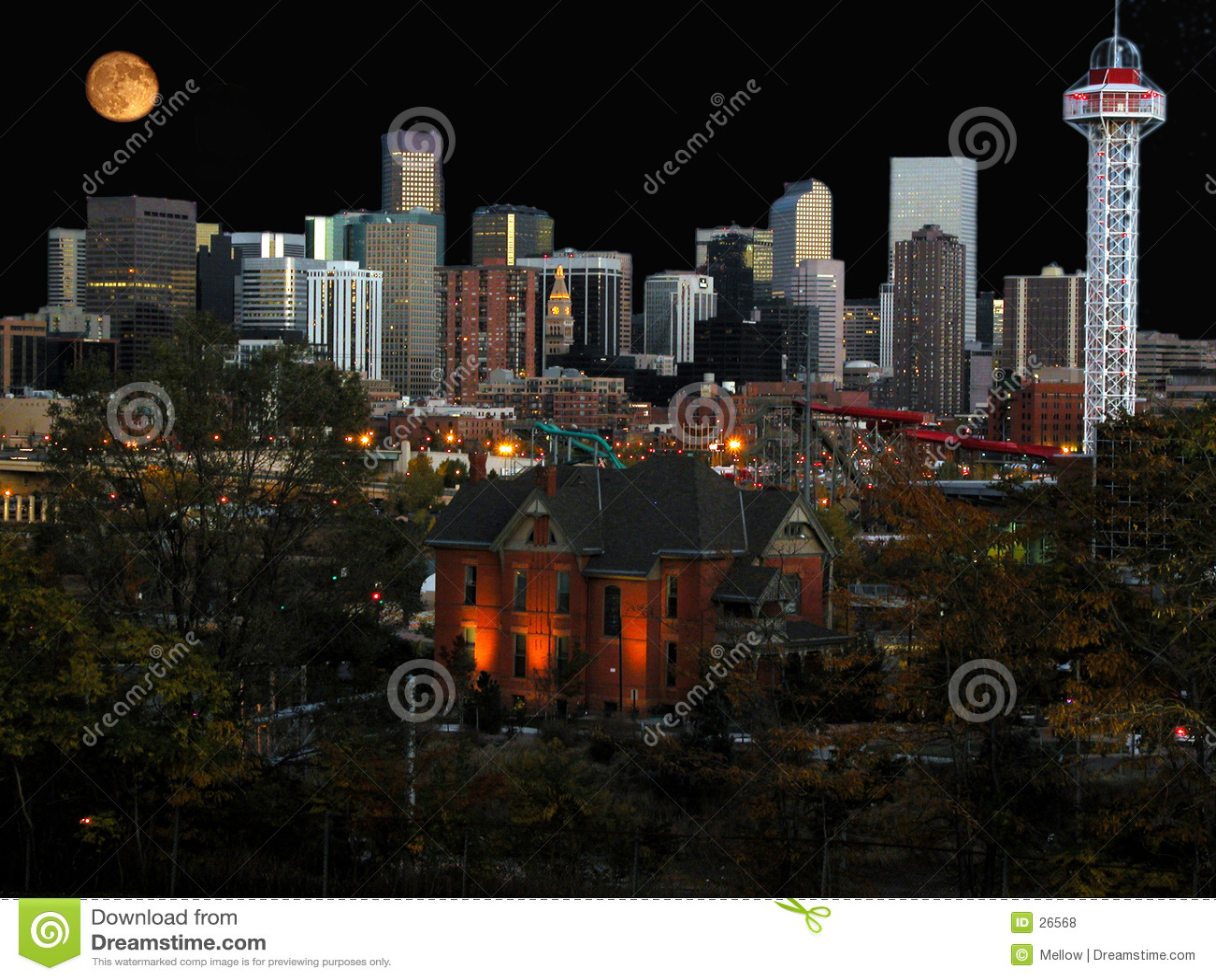 Cityscape denver