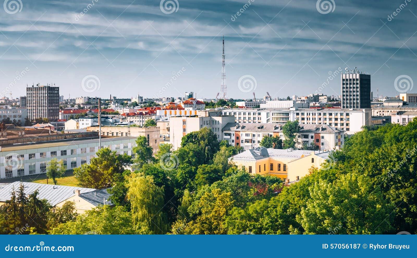 Cityscape en Architectuur in Gomel, Wit-Rusland