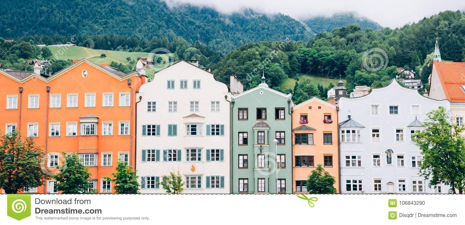 Cityscape Oostenrijk van Innsbruck