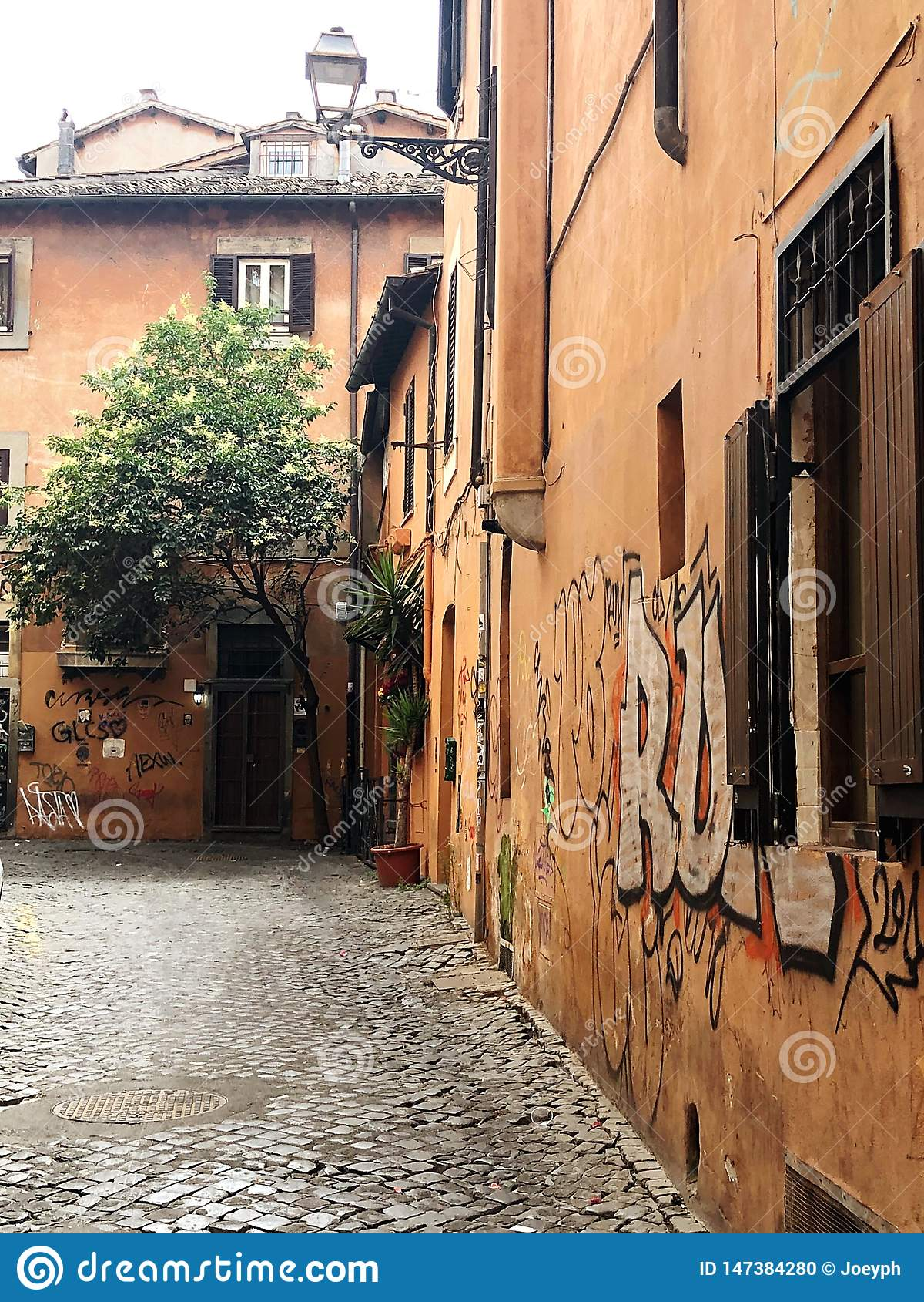 Cityscape Rome