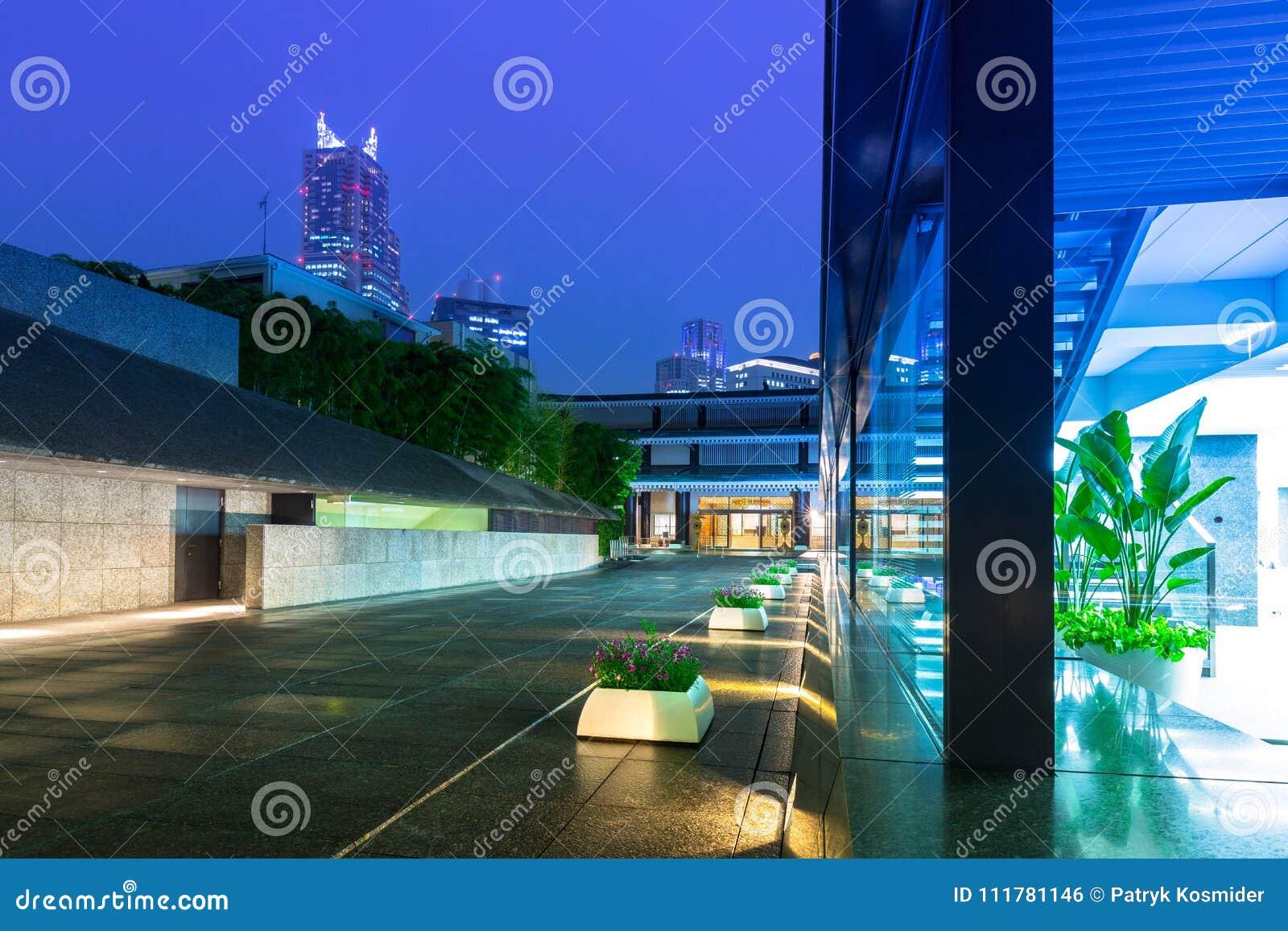 Cityscape of Shinjuku district of Tokyo