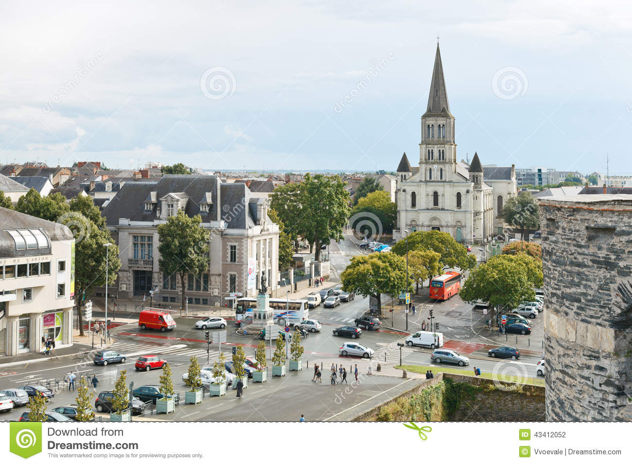 Angers France  City new picture : ... Angers, France. Angers is city in western France and it is capital of
