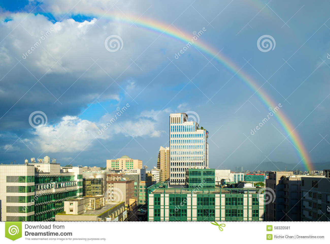 cityscapes buildings rainbow city - photo #16