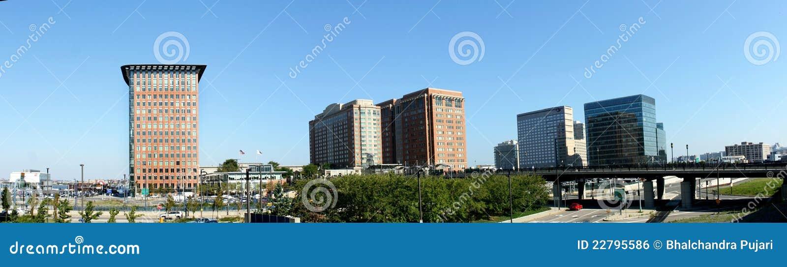 Cityscape van Boston
