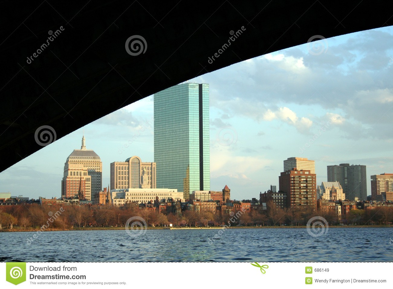 Cityscape van Boston