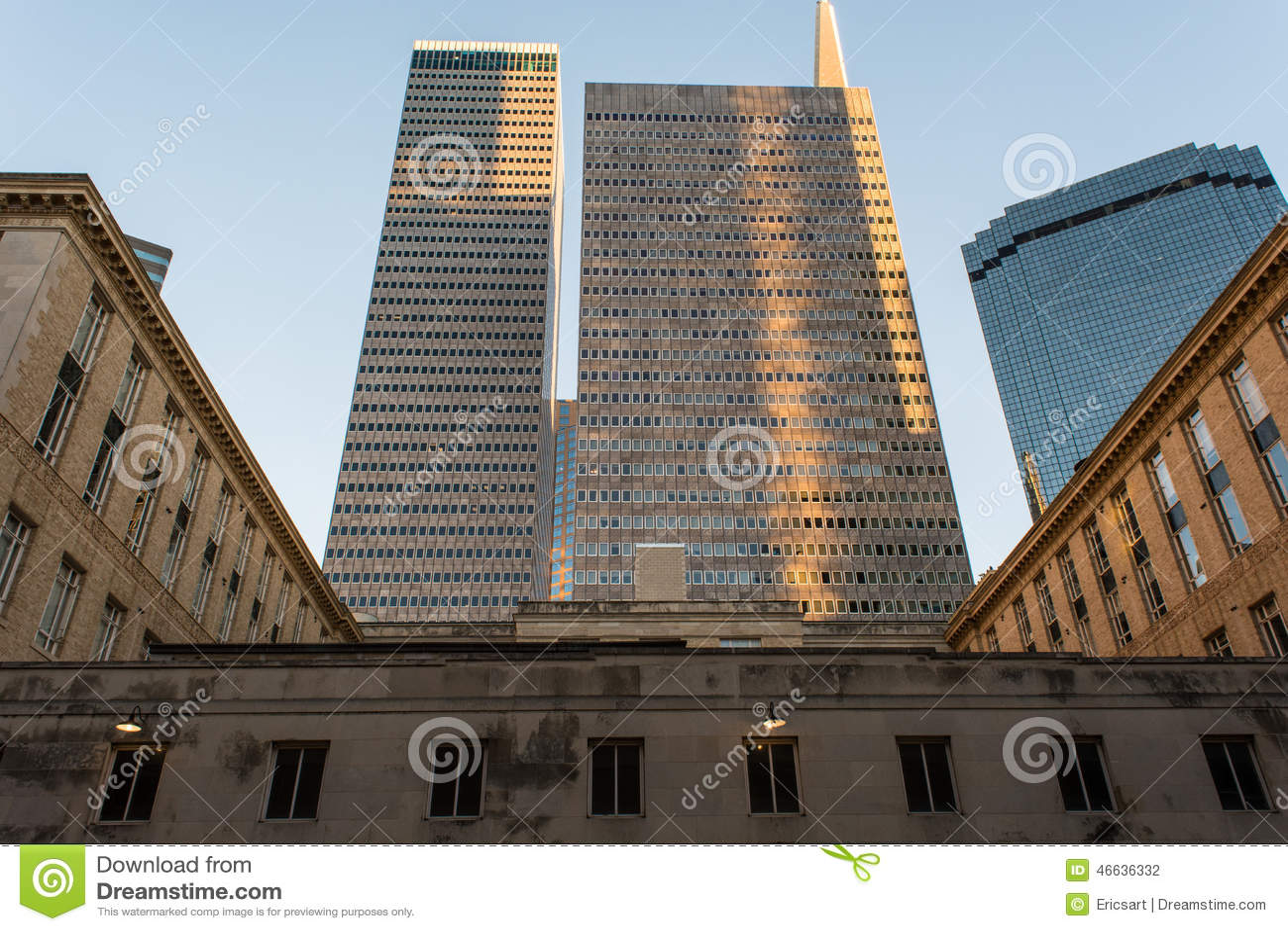 Cityscape van Dallas