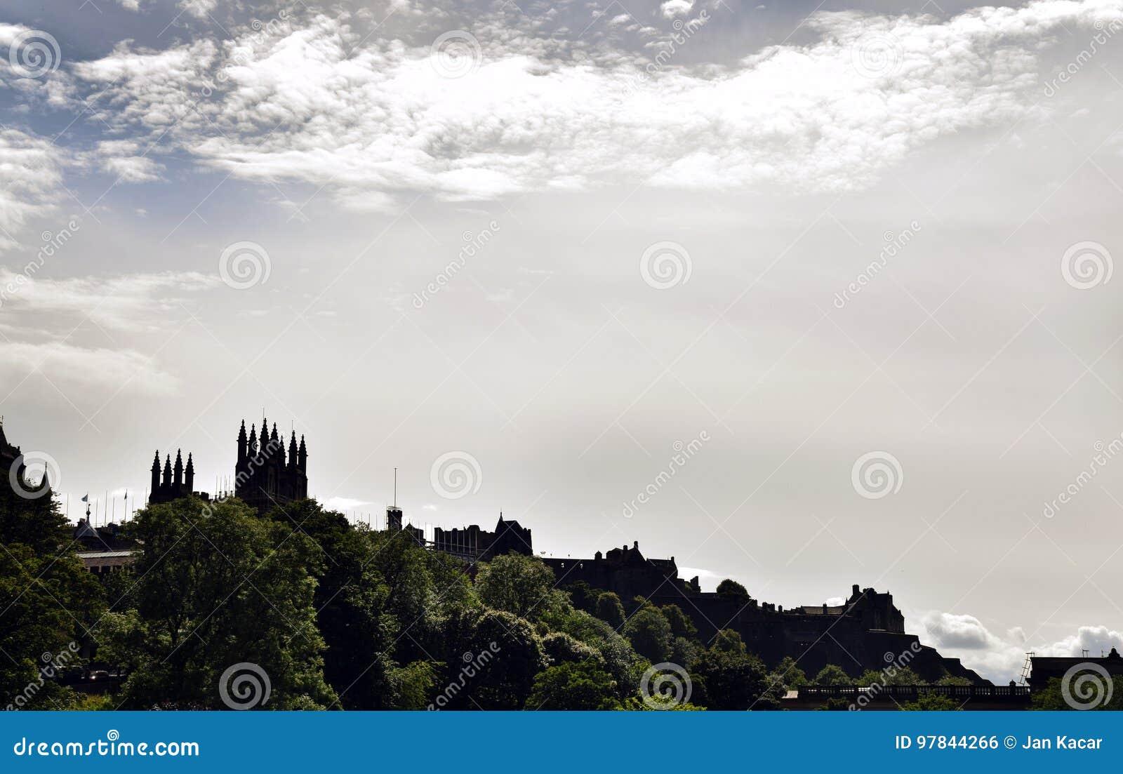 Cityscape van Edinburgh