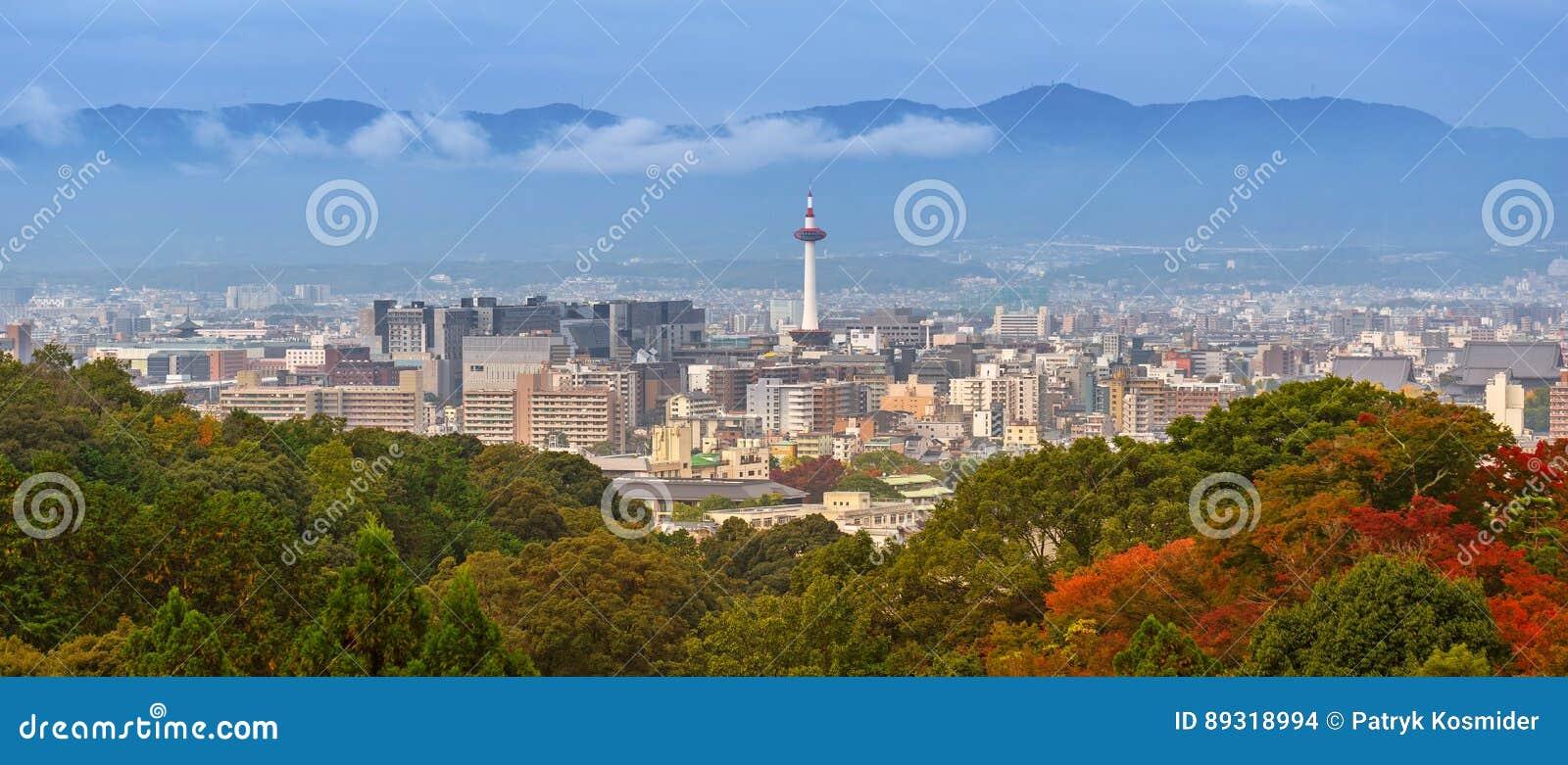 Cityscape van Kyoto, Japan