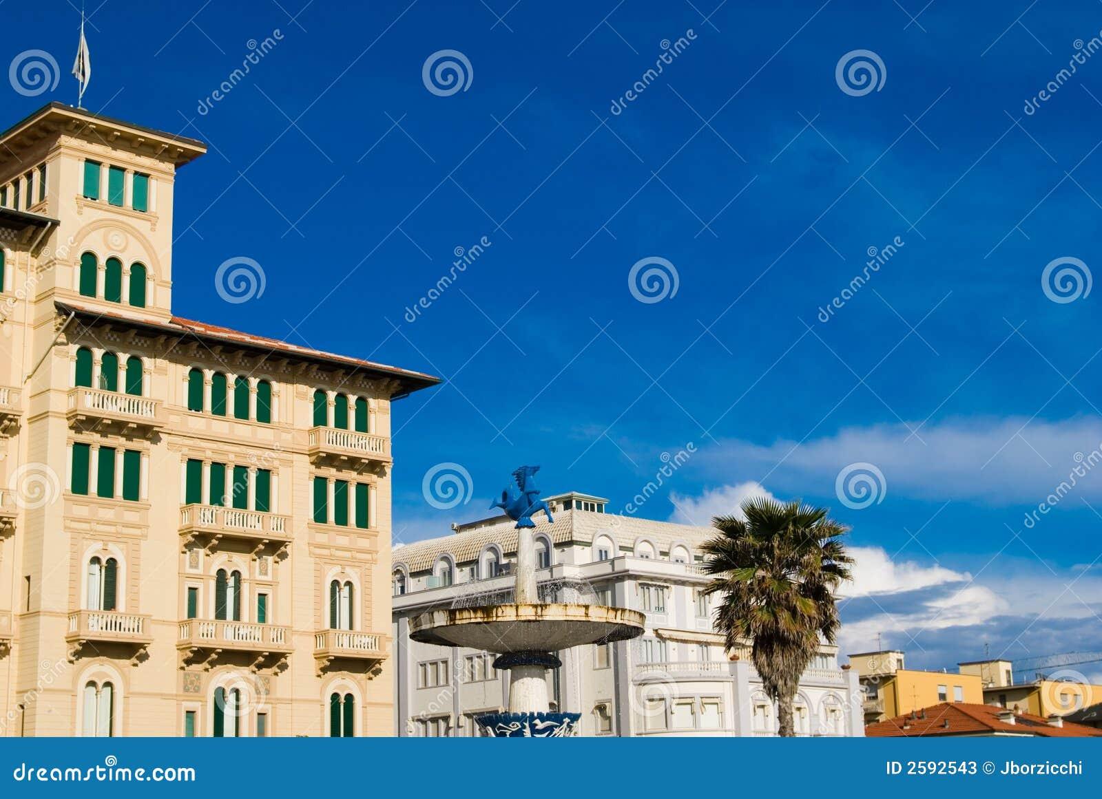 Cityscape, Viareggio Toscanië