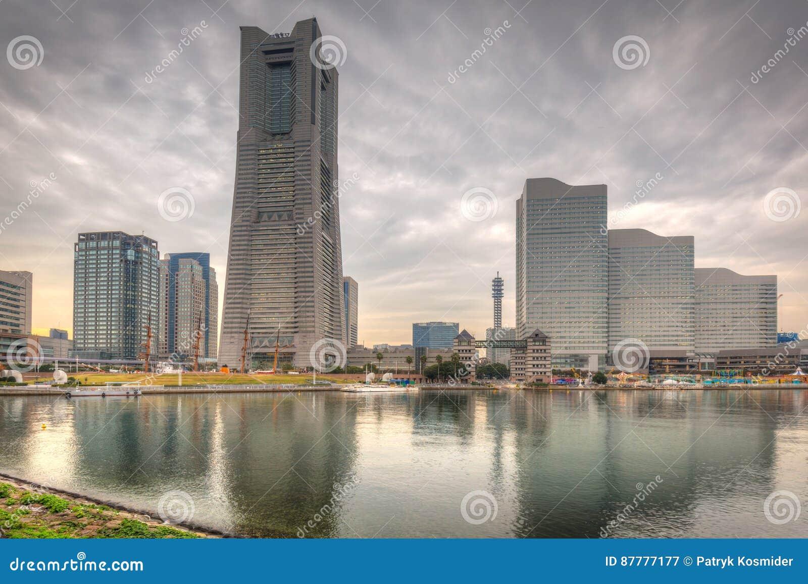 Cityscape of Yokohama, Japan