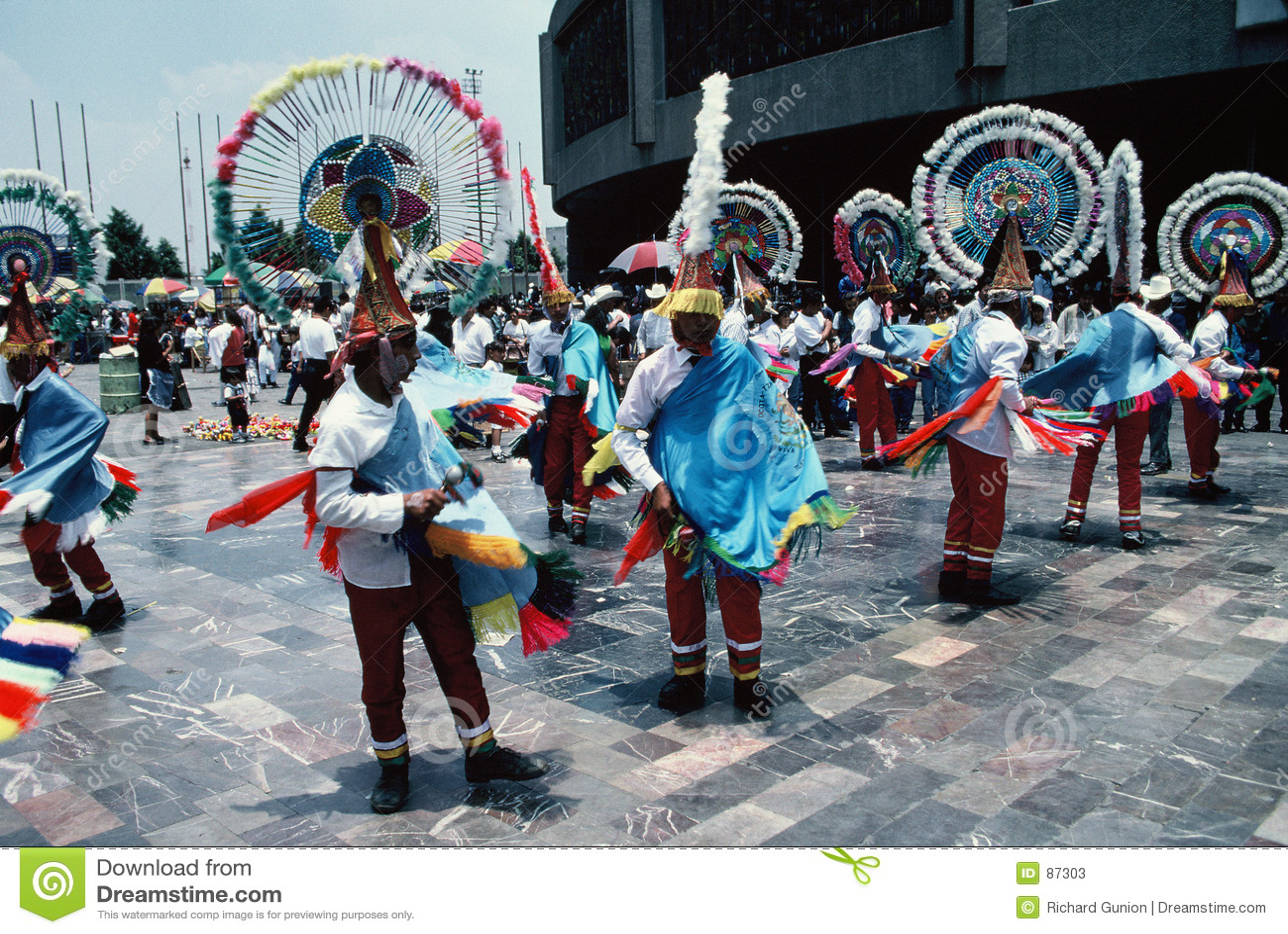 Ciudad azteca de Bailarín-México