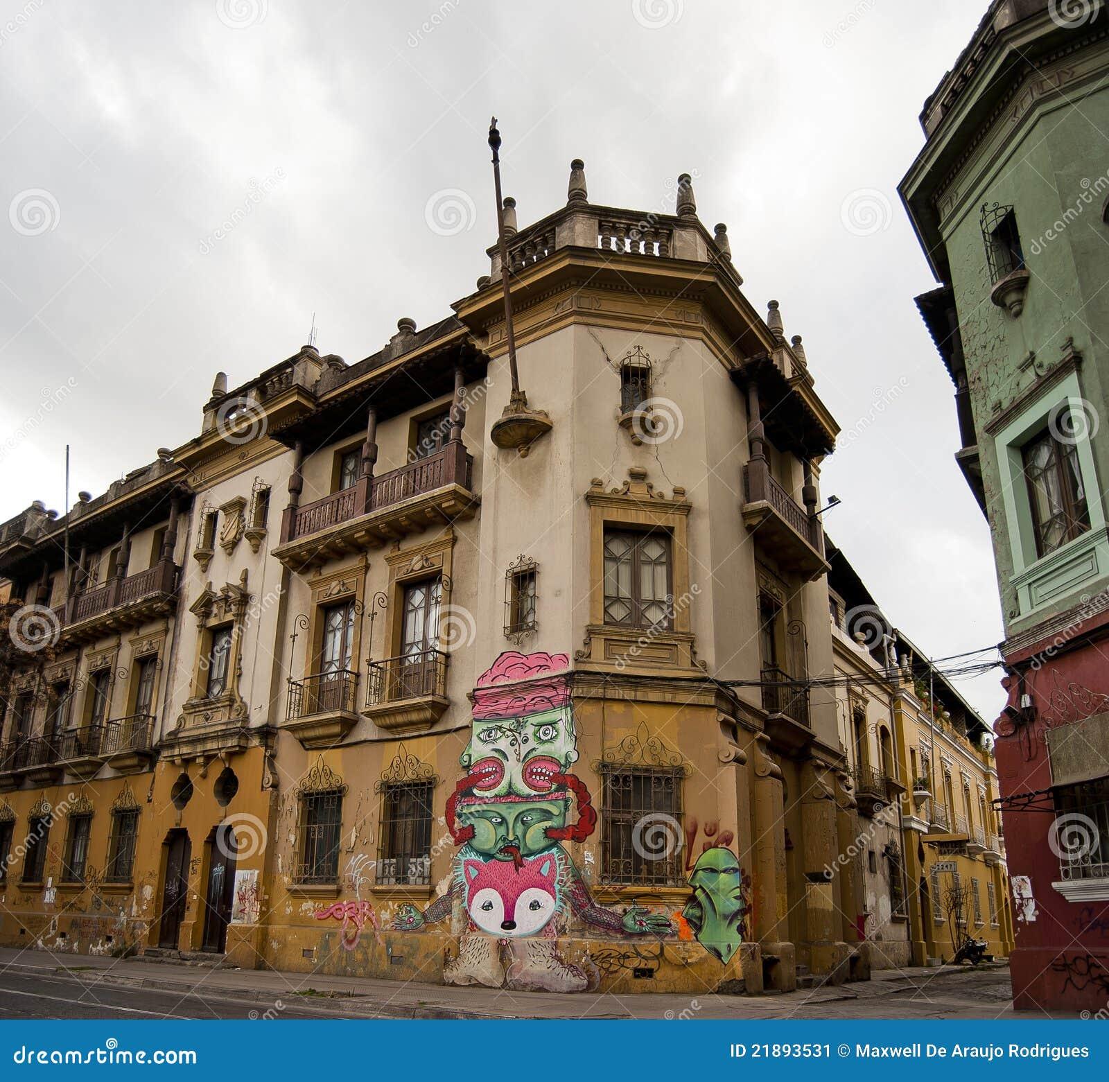 Ciudad céntrica de Santiago