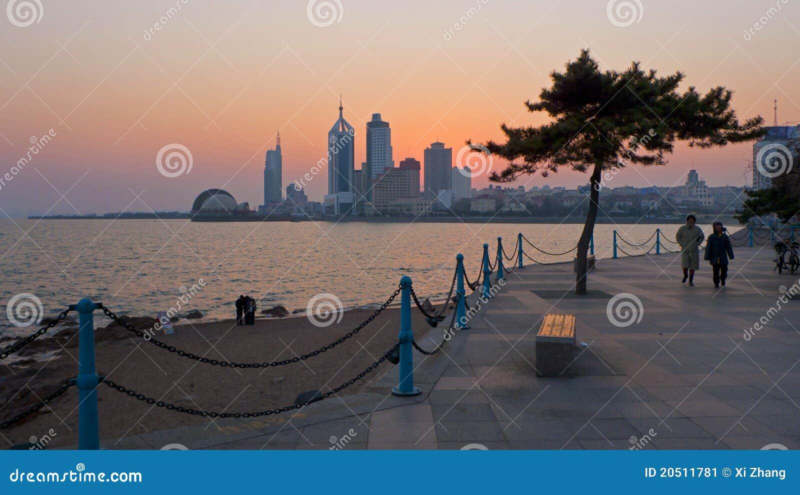 Ciudad China de Qingdao