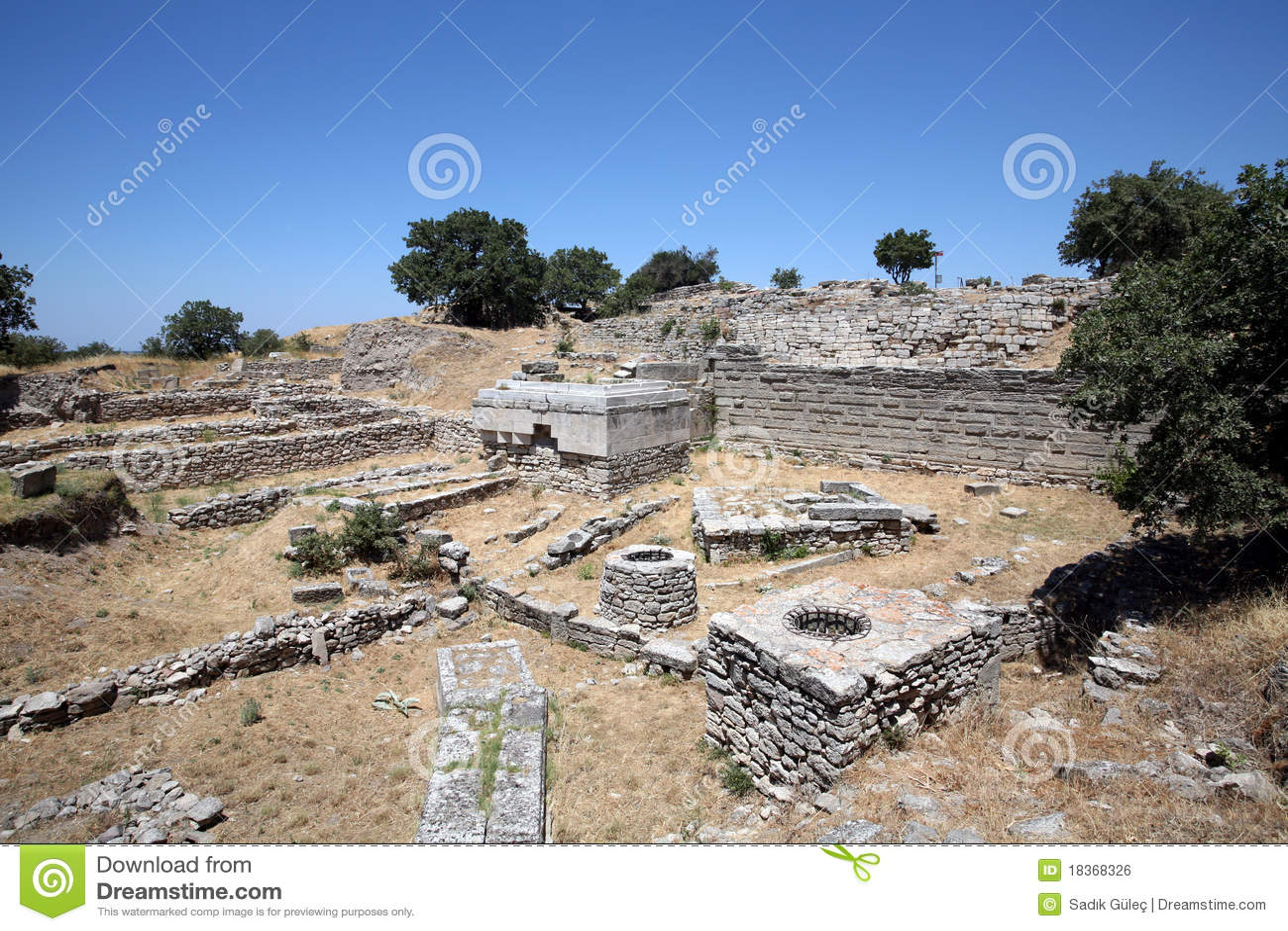 Ciudad de Ancinet de Troy