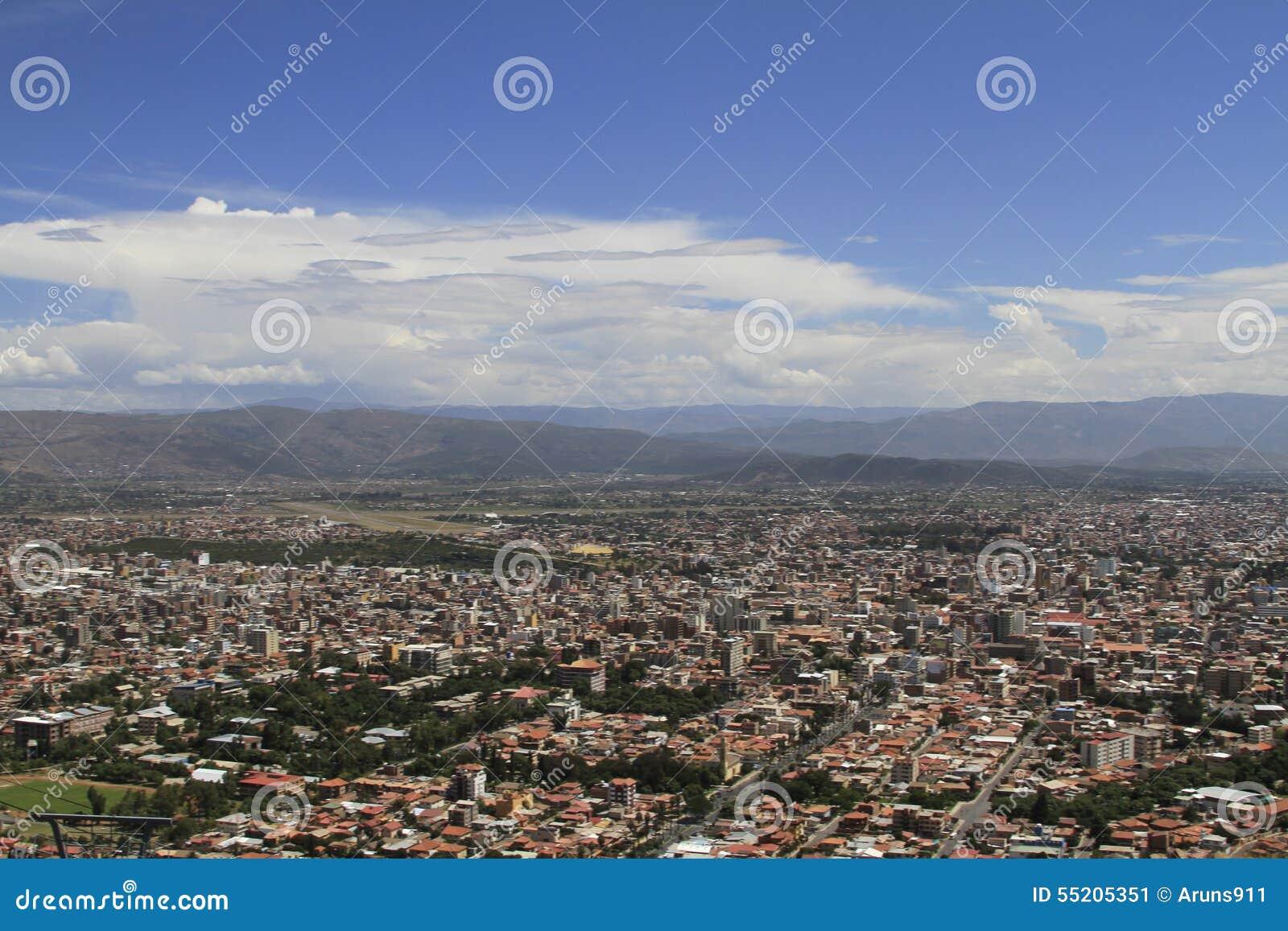 Ciudad de Cochamba, Bolivia