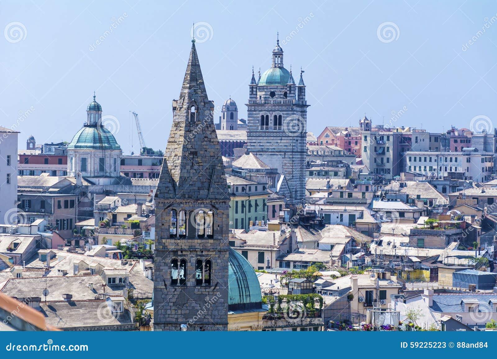 Ciudad de Génova, panorama