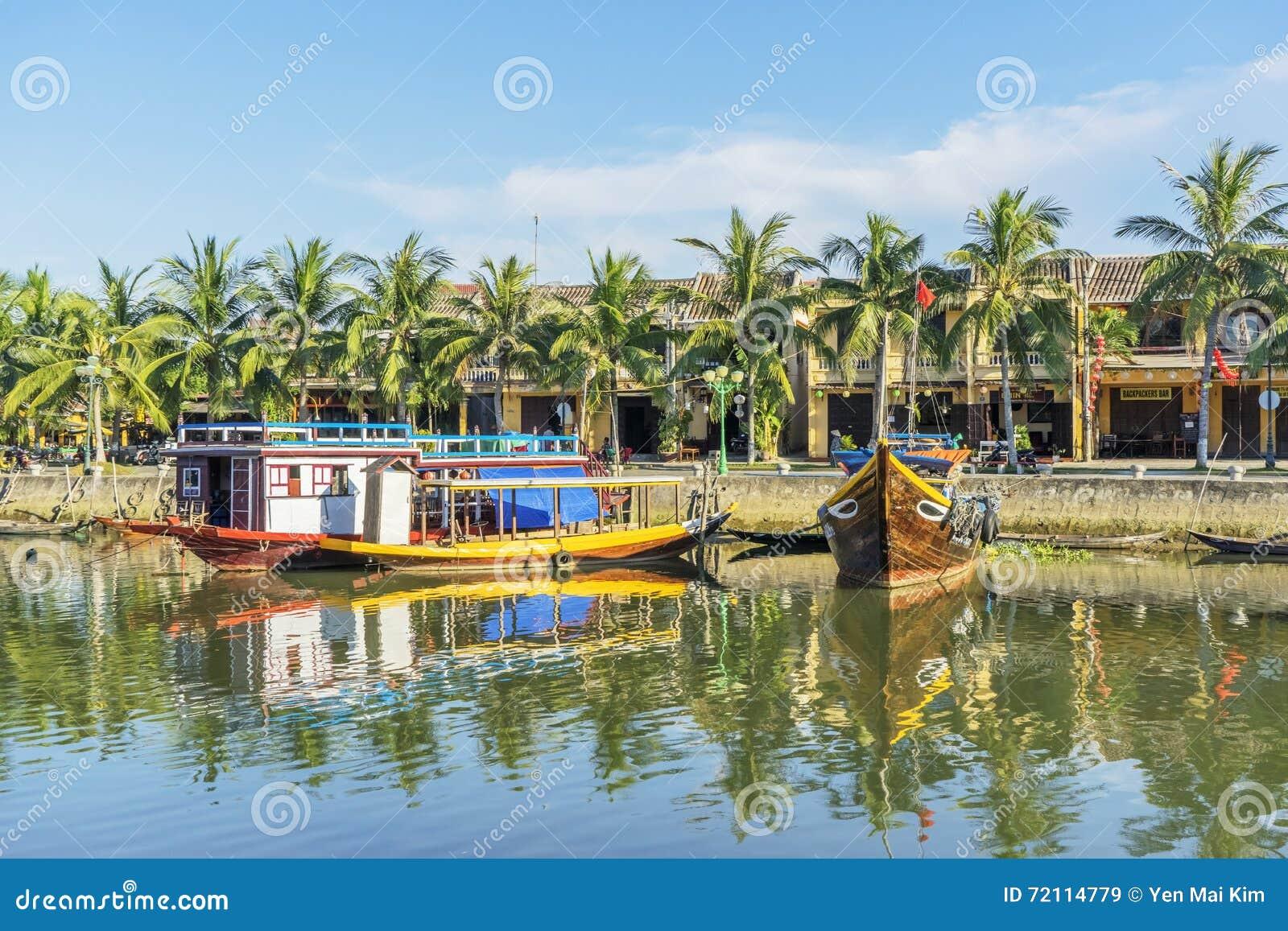 Ciudad de Hoi An Ancient, provincia de Quang Nam, Vietnam
