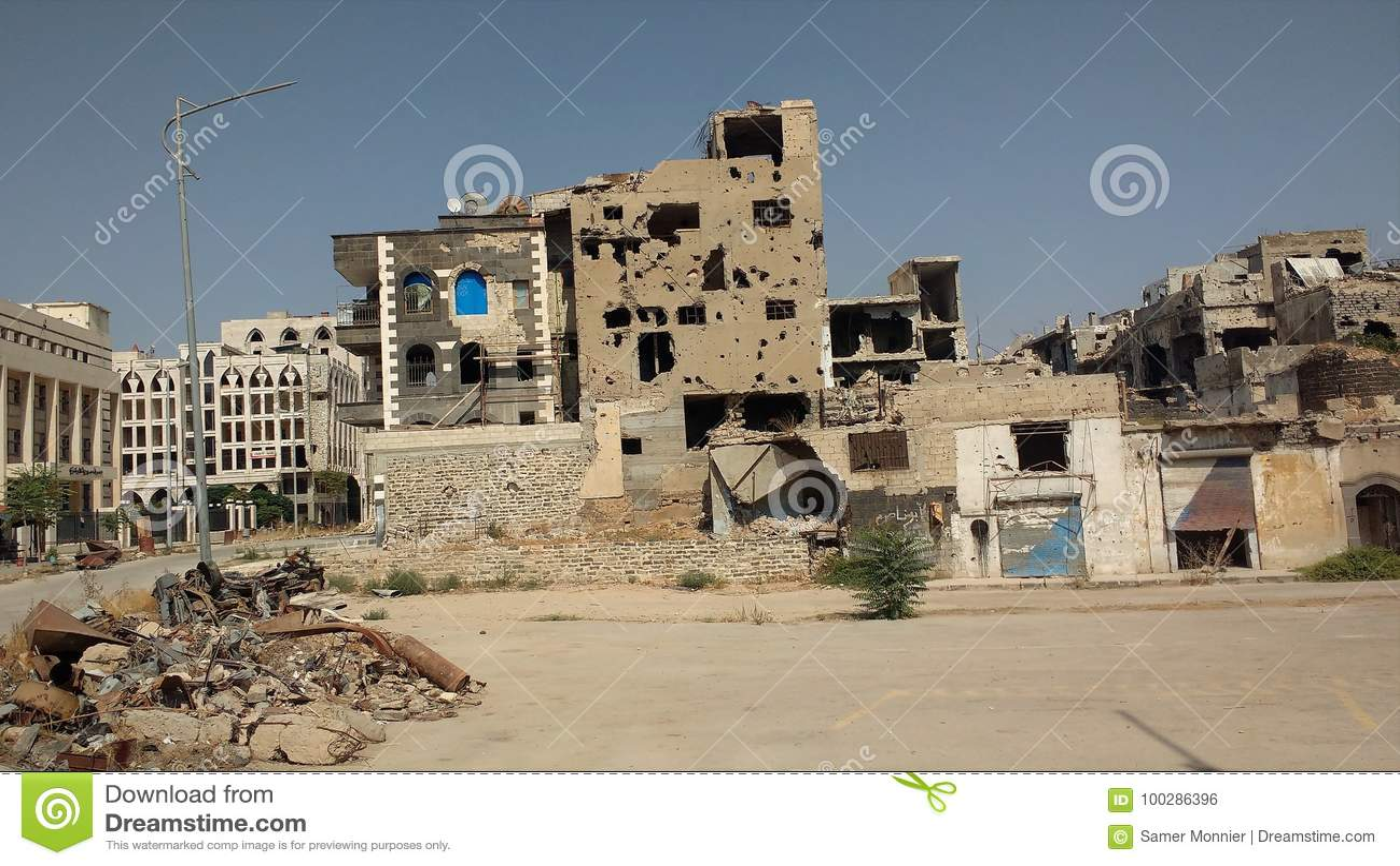 Ciudad de homs después de la guerra