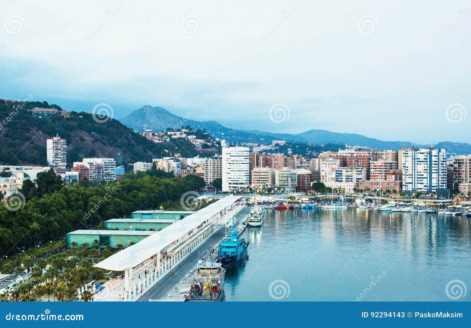 Ciudad de Málaga, España