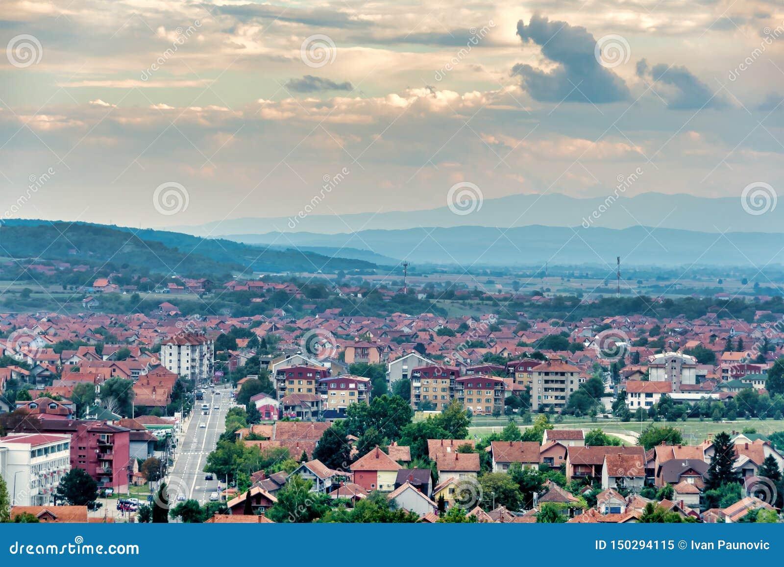 Ciudad de Paracin, Serbia