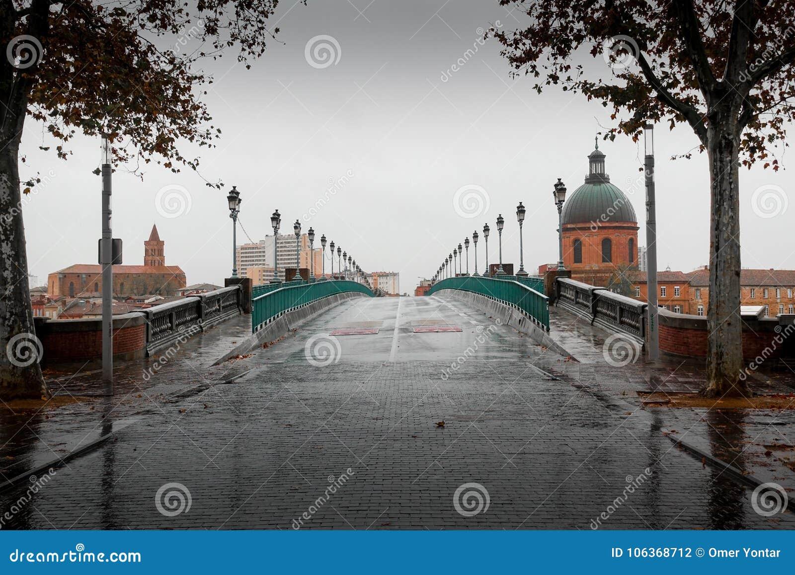 Ciudad de Toulouse y ciudad y castillo viejos de Carcasona
