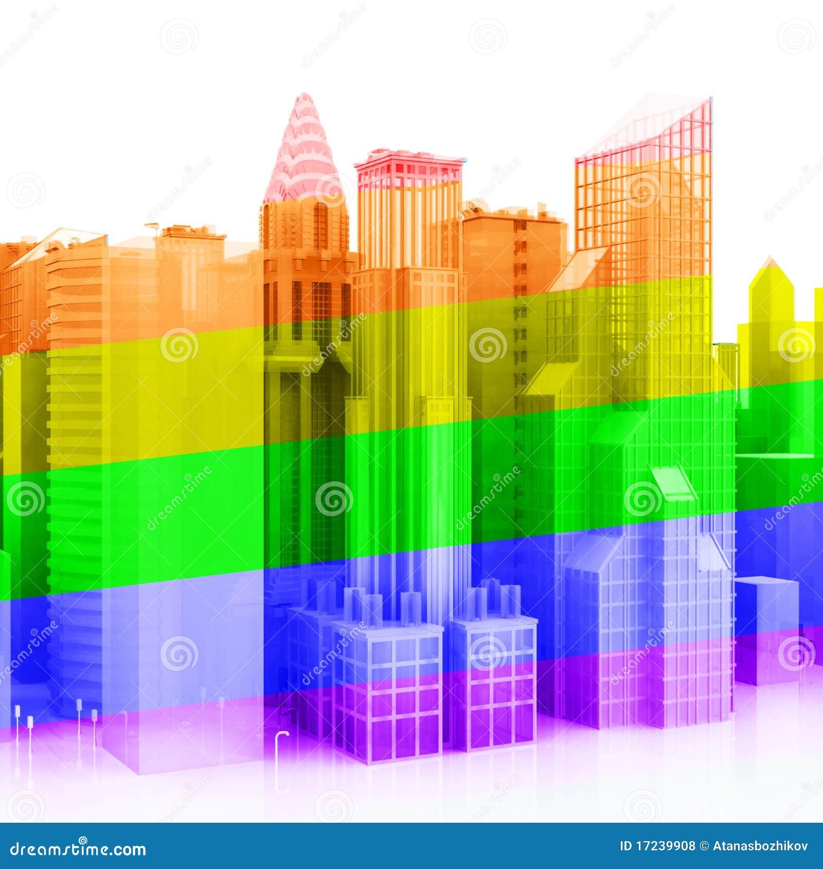 Ciudad del homosexual 3D