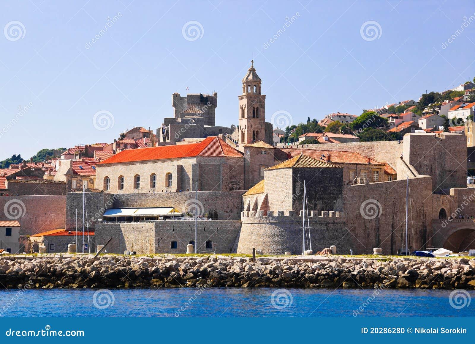 Ciudad Dubrovnik en Croatia