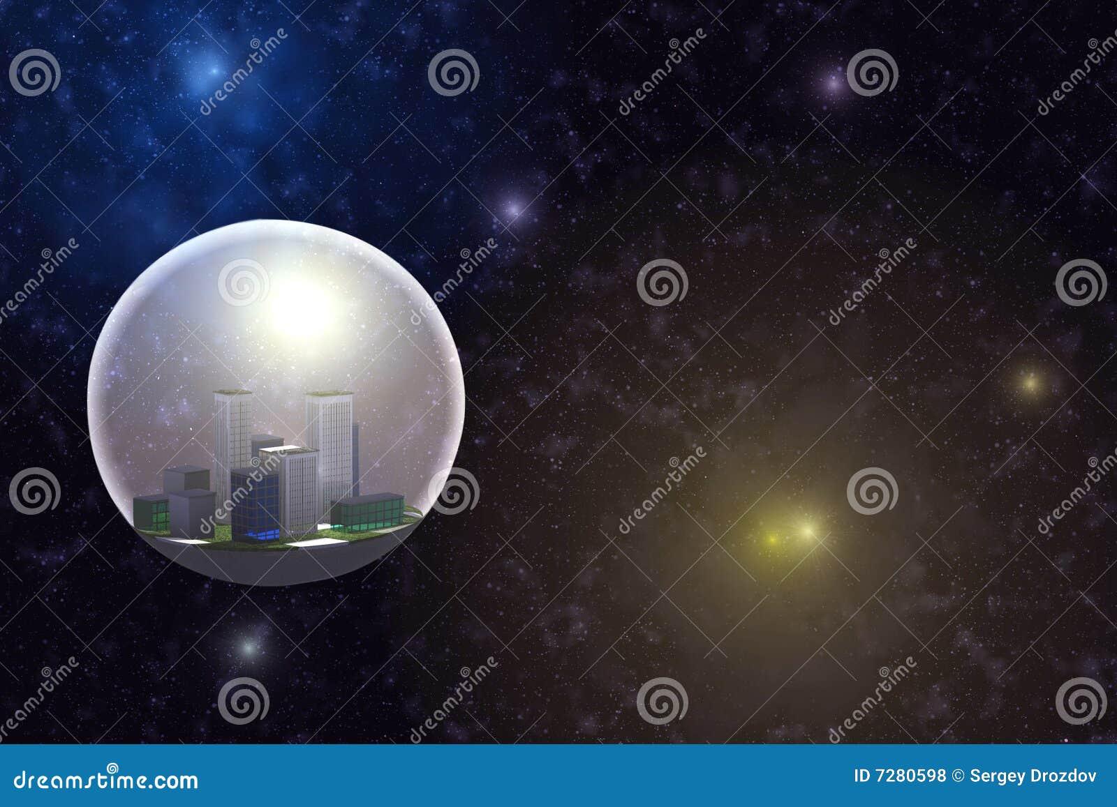 Ciudad en espacio