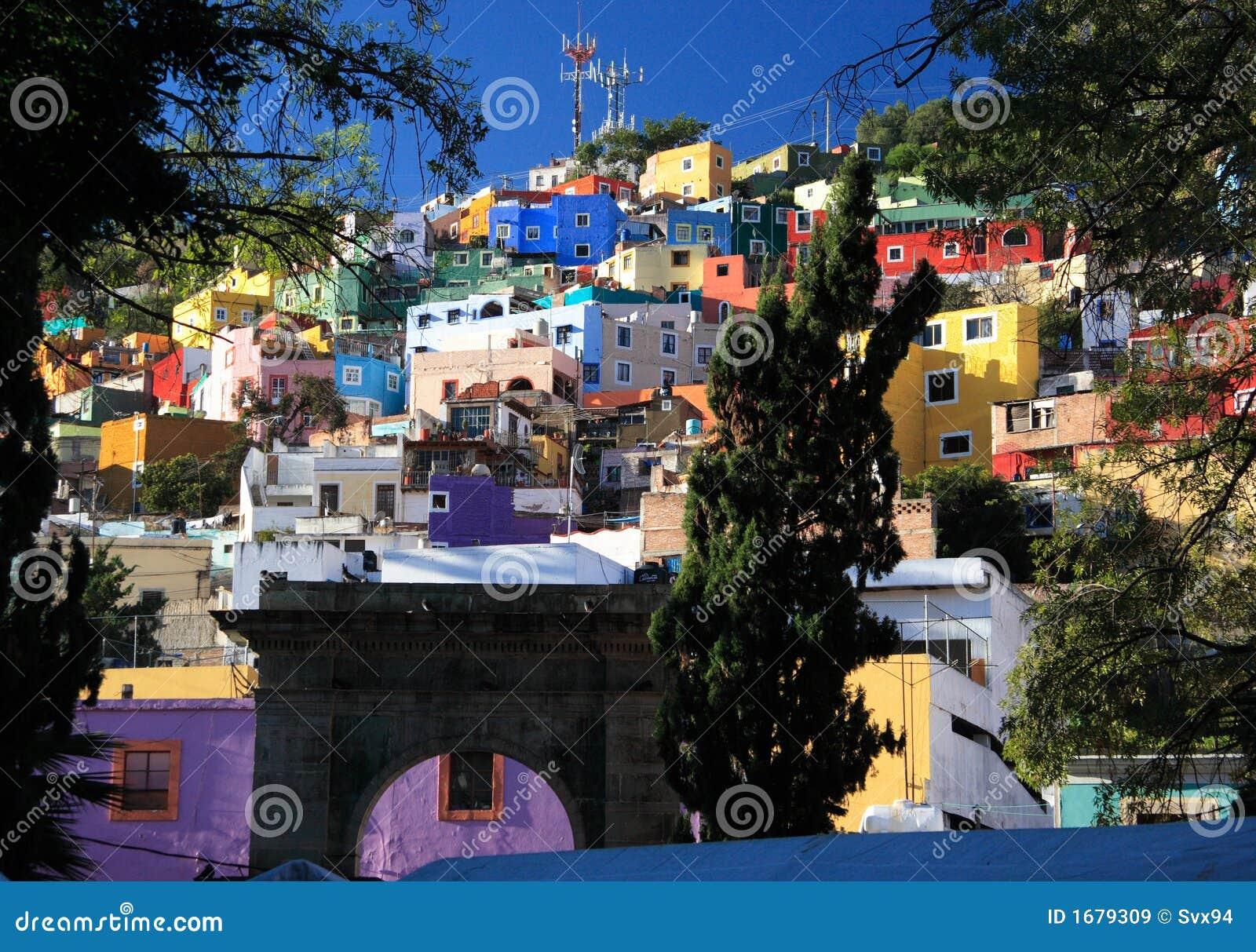 Ciudad histórica de Guanajuato, México