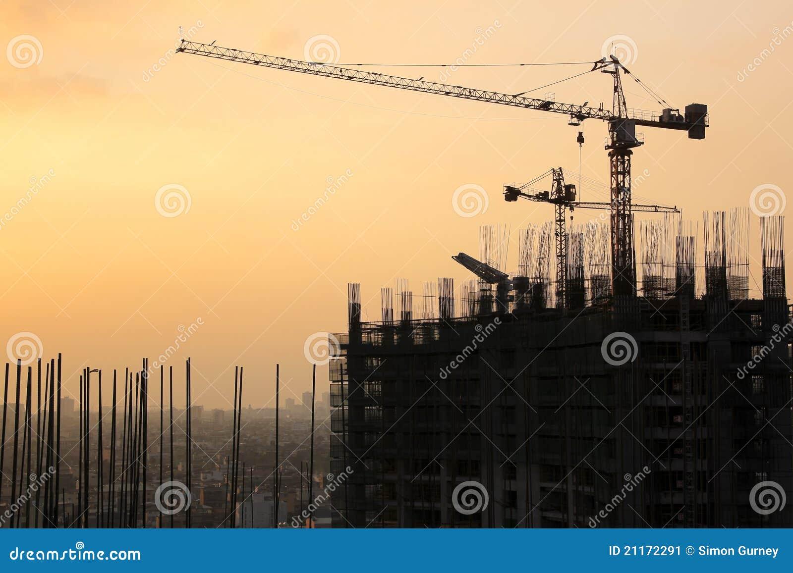 Ciudad manila del makati del desarrollo urbano